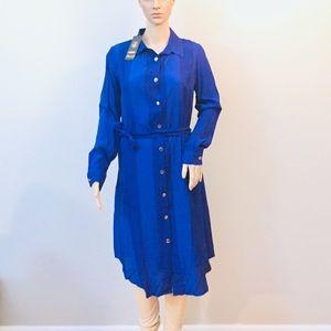 Royal Blue Turkish Pakistani kurta dress